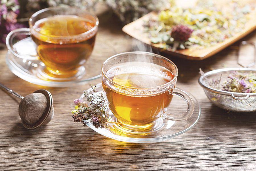 Tè alla canapa