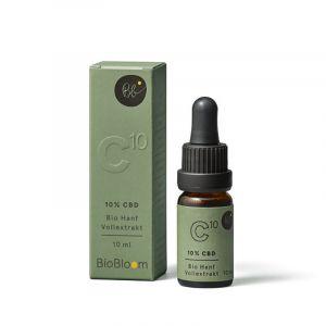 BioBloom 10% Organico  Estratto naturale di olio 10ml