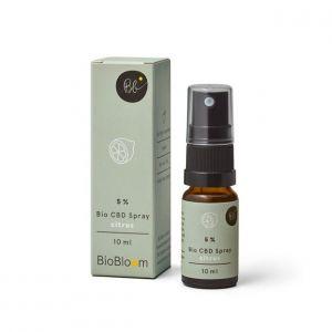 BioBloom 5% Organico CBD Spray al limone 10ml