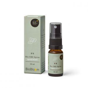 BioBloom 5% Organico CBD Spray spray alla menta verde 10ml