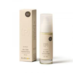 BioBloom Organico CBD Crema per le mani Protect 30ml