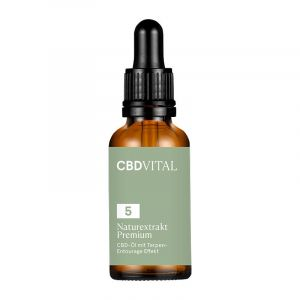 CBD Vital Estratto naturale di olio PREMIUM 5%.