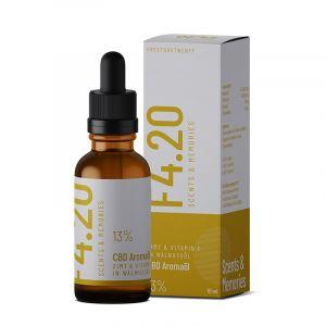 Olio CBD 13% al gusto di cannella e vitamina E