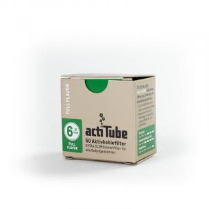actiTube EXTRA SLIM Filtro a carbone attivo 6mm