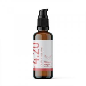 Olio pelle e cura CBD geranio rosa